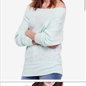 Free People Palisades Top in Mint NWT